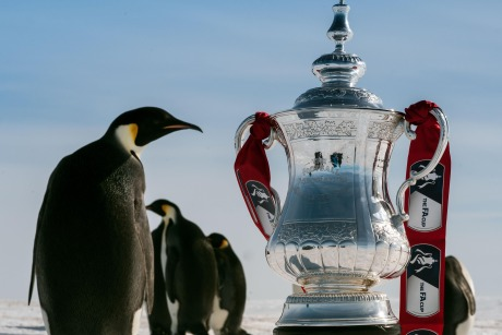 FA Cup: Trophy travelled to the South Pole to launch storytelling campaign