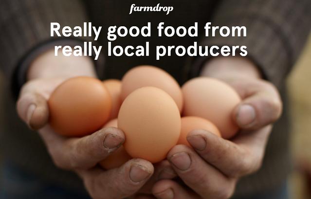 Farmdrop describes itself on its website as 'a bit like an online farmers market'