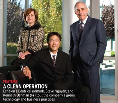 A clean operation