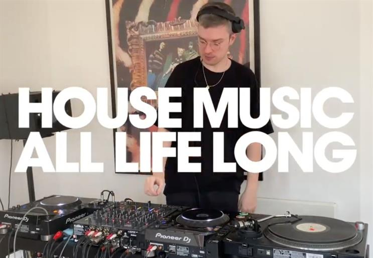 'House' music: DJ Melé performed at the virtual festival