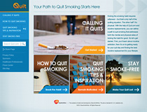 GSK readies site to help smokers quit