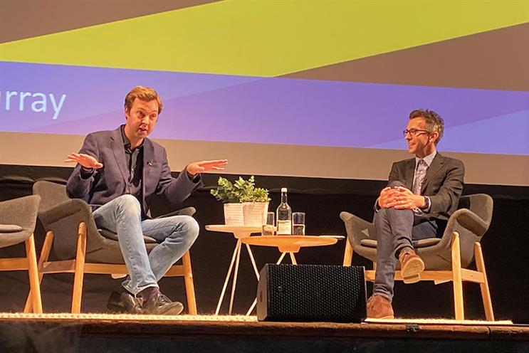 IAB Digital Upfronts for podcasts: Hunter-Murray and Audioboom's Mike Newman