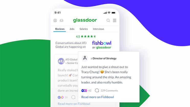 Glassdoor acquires professional social networking app Fishbowl