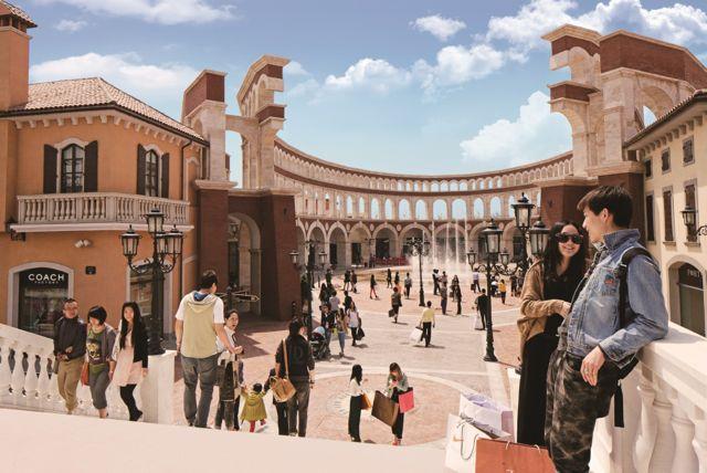 Florentia Village – Jingjin Luxury Designer Outlets