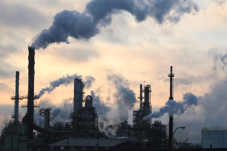 The Clean Creatives campaign wants agencies to drop fossil fuel clients. (Photo credit: Getty Images).