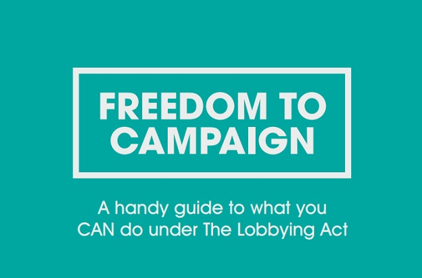Yes, you can (campaign): agency bids to end 'chilling effect' on charity campaigning
