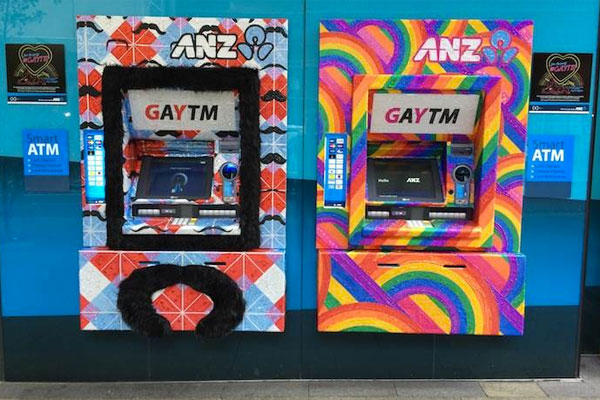 Why and how an Australian bank turned ATMs into 'GAYTMs'