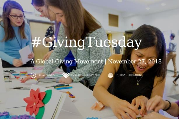 Porter's MacAfee: It's expected that corporations participate in #GivingTuesday 2019