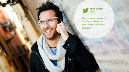 Tech company raises profile of Google Glass competitor