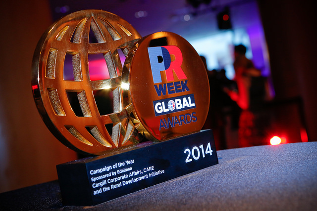 PRWeek launches 2015 Global Awards