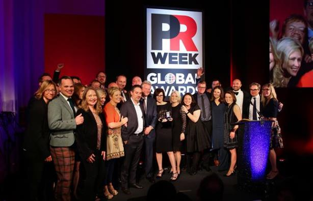 Shortlist for PRWeek Global Awards 2018 unveiled