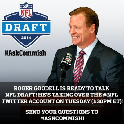 #AskCommish session with the NFL's Roger Goodell goes predictably off-course