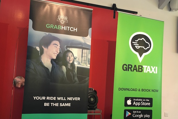 GrabTaxi launches carpooling service in Singapore