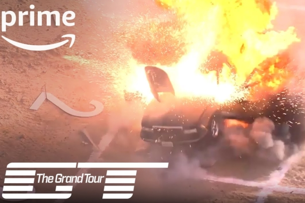 Amazon invites Twitch users to blow up cars to promote new season of The Grand Tour