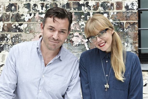 Matt Buchanan and Kat Thomas: MD and creative director of One Green Bean