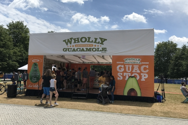 Wholly Guacamole creates Guac Stops in five cities
