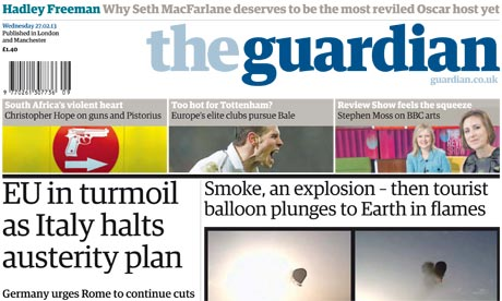 The Guardian names Katharine Viner as first female editor-in-chief