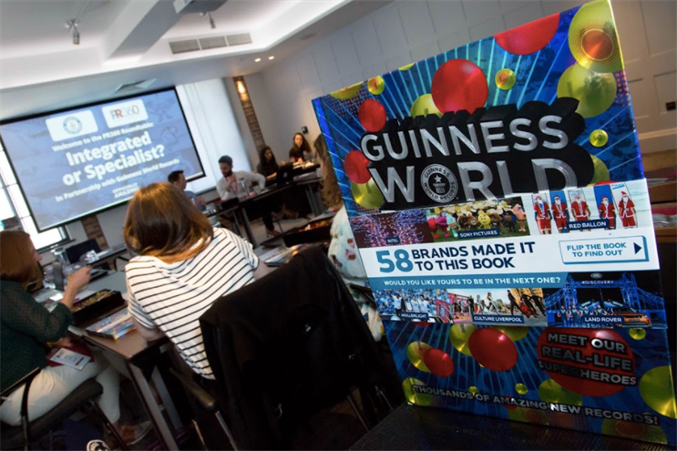 Guinness World Records hosted a roundtable at PR360
