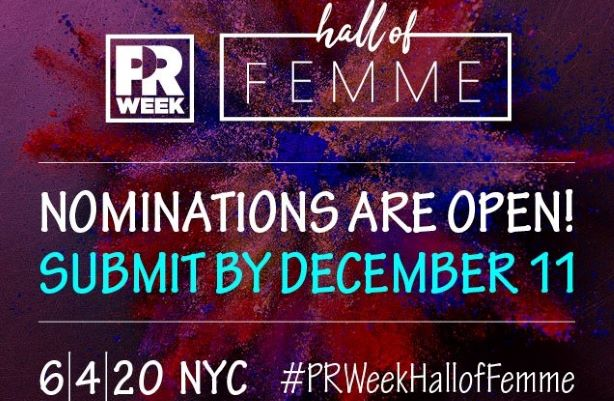 Hall of Femme 2020 open for nominations