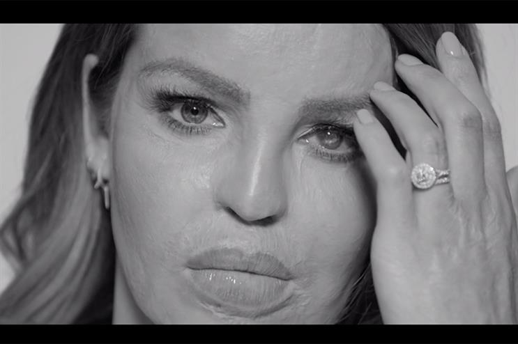 Katie Piper, in a still from the 'Every Mind Matters' campaign film