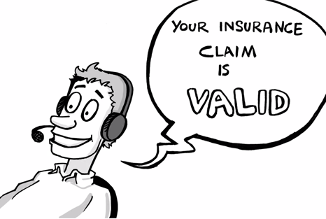 Hiscox: Your insurance claim is valid