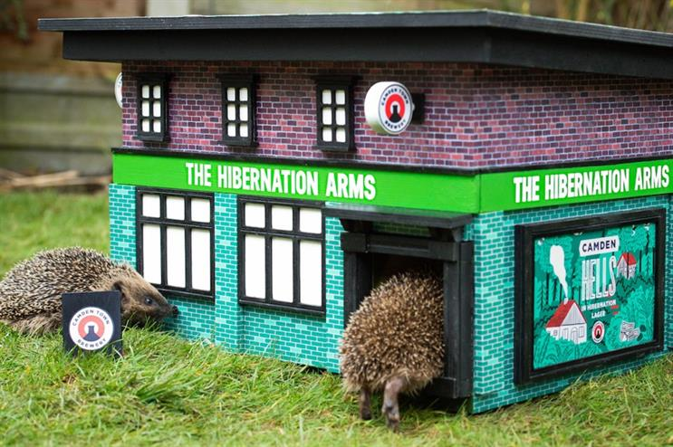 The Hibernation Arms is the first British pub that enjoys serving prickly patrons.