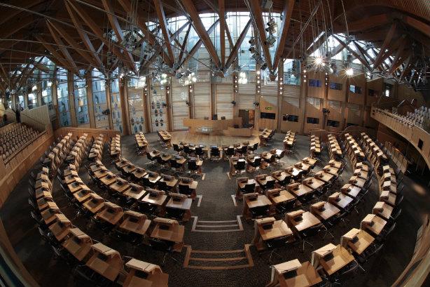The Scottish Parliament Chamber (© Scottish Parliamentary Corporate Body)