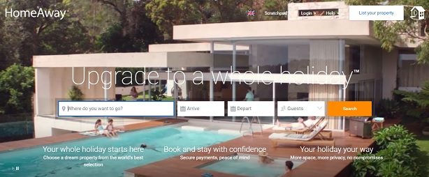 Expedia brand HomeAway hires Hotwire to new UK brief