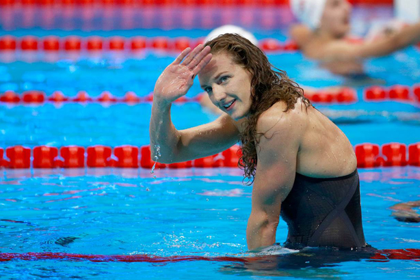 Katinka Hosszu: Commentators have found themselves in hot water over comments about the Hungarian swimmer (credit: Adam Pretty / Rio 2016)