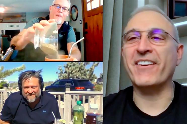 Michael Orkin and Karl Norberg virtually interview CEO Antonio Neri.