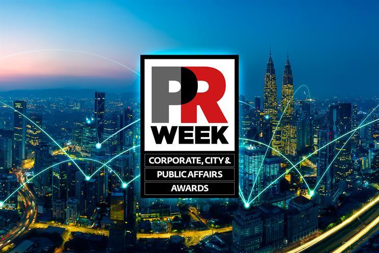 PRWeek UK Corporate, City & Public Affairs Awards: shortlisted revealed