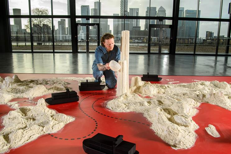 'Cocaine map' created for NOW TV drama launch