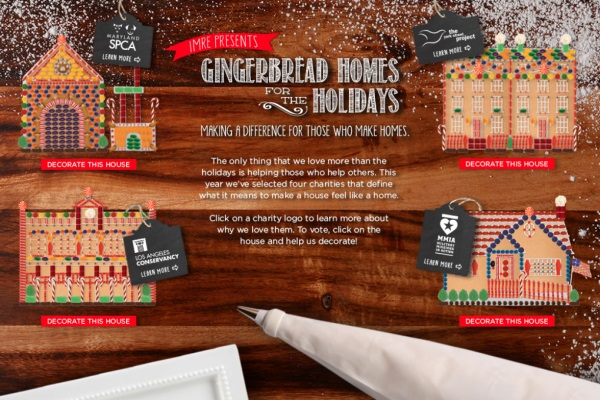 Imre uses gingerbread decorating app for good