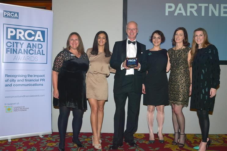 Instinctif Partners: award winner
