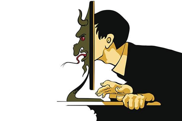 Trolling feared by brands, finds study (Credit: dan177/Thinkstock)