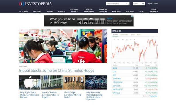 Investopedia picks Vested as AOR