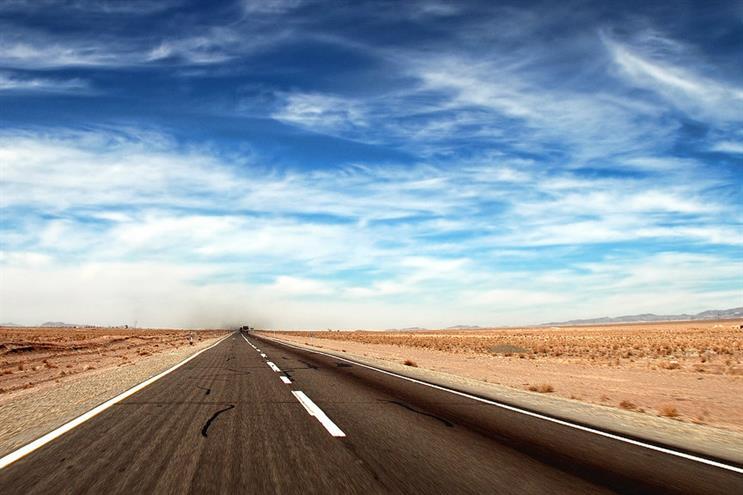 A rural road in Iran (Credit: Kuster & Wildhaber Photo via Flickr)