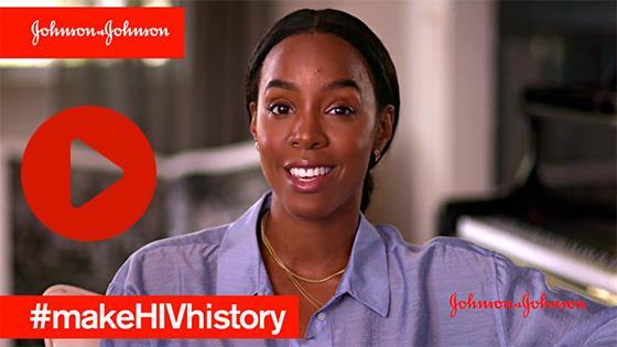 From Johnson & Johnson's #makeHIVhistory campaign