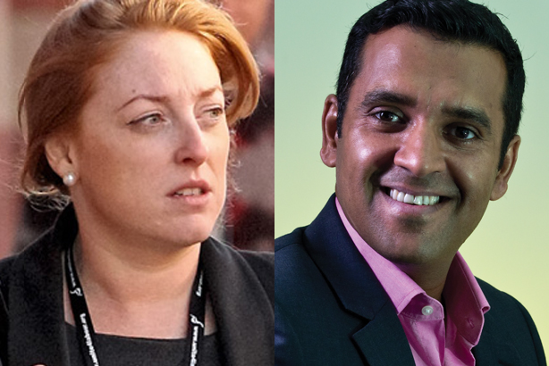 Katie Myler and John Lehal: Working on Andy Burnham's campaign