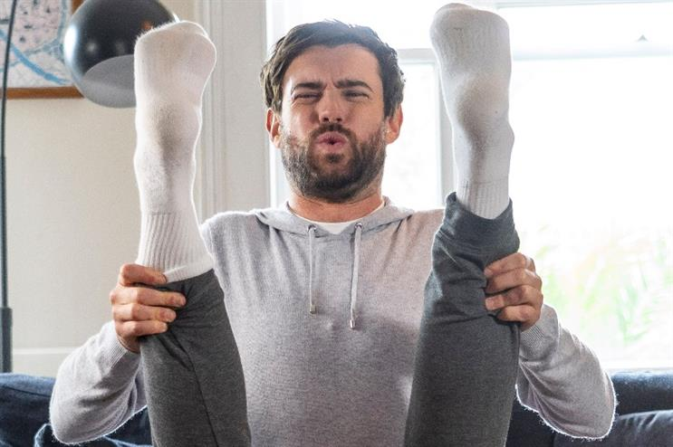 Watch: Jack Whitehall gets fit from everyday activities for AXA Health