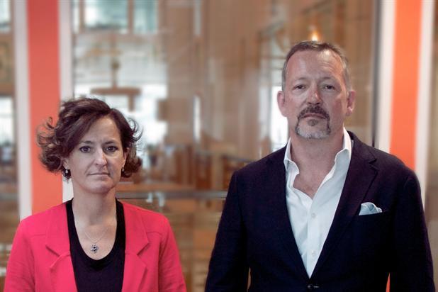 Ogilvy Group: King (l) will lead UK unit alongside O'Donnell
