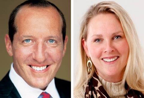 Eric Sedler (l) and Maggie Moran, Kivvit managing partners.
