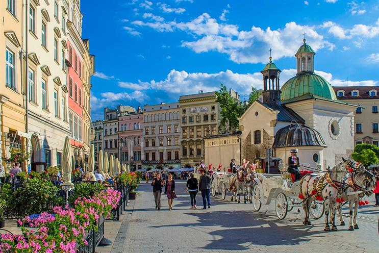 Krakow's old city