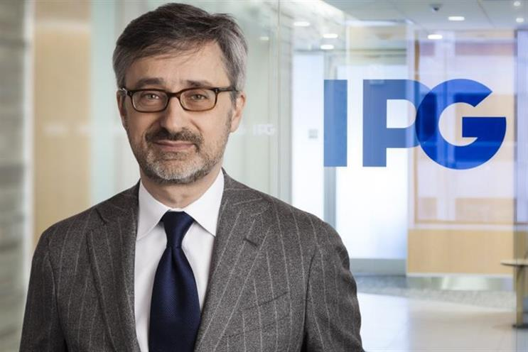 Interpublic Group CEO-to-be Philippe Krakowsky. (Photo credit: IPG).