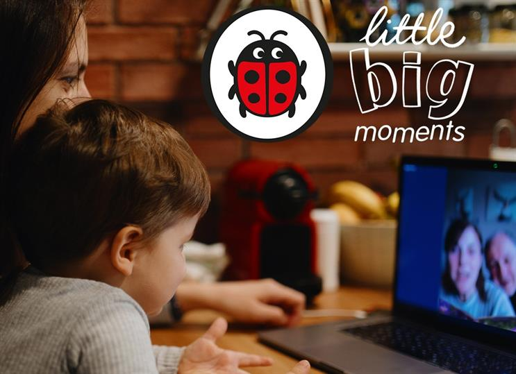Ladybird uses shared reading time to unite children and relatives during lockdown