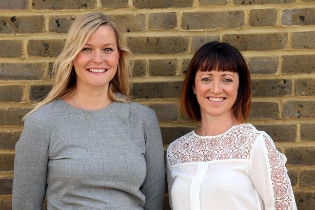 Another Word: Nichola Mughal (left) and Lynda Redington have set up a new agency