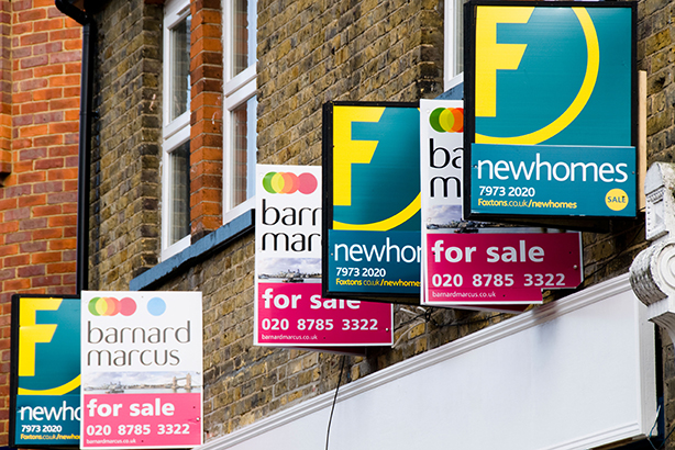 London: Calling for housing solutions (Credit: SFL Life Style/Alamy Stock Photo)