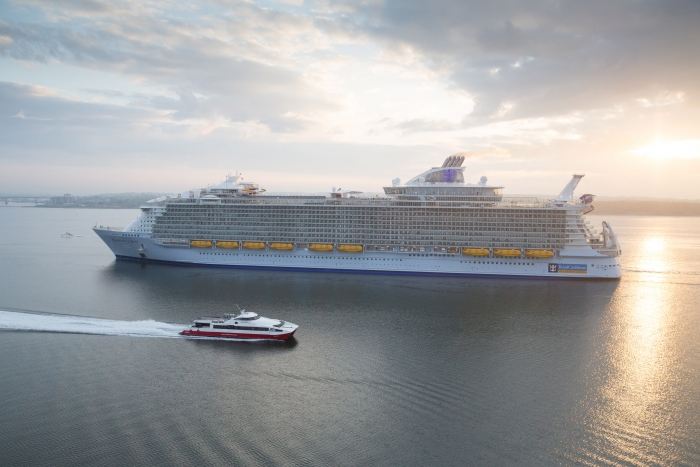 Top of the month: Harmony of the Seas sails into public consciousness