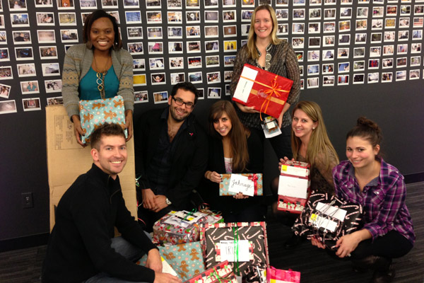 M Booth brightens season for disadvantaged children