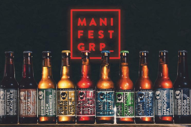 Manifest: promises to 'blow the doors off' the global beer industry